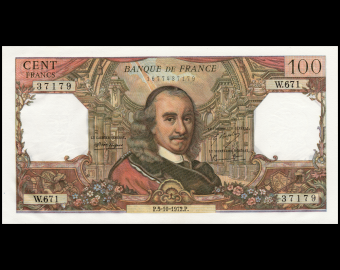 France, P-149d, 100 francs, 1973, Presque Neuf / a-UNC