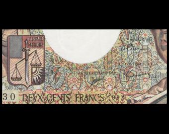 France, P-155e, 200 francs Montesquieu, 1992, PresqueNeuf / a-UNC