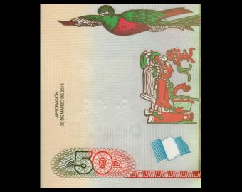 Guatemala, P-125b, 50 quetzales, 2013