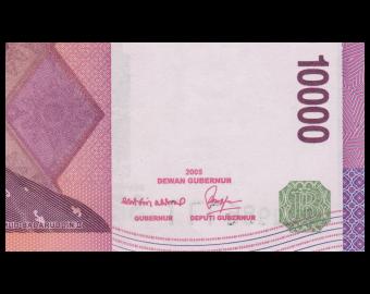 Indonesia, P-143d, 10.000 rupiah, 2008