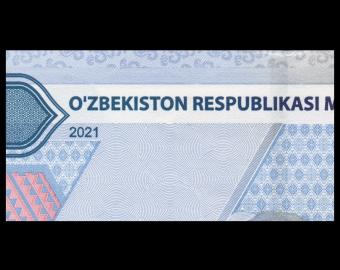 Uzbekistan, P-new, 10.000 som, 2021