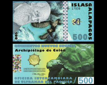 Galapagos Islands, 500 Sucres, 2012
