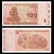 Zimbabwe, P-97, 100 dollars, 2009