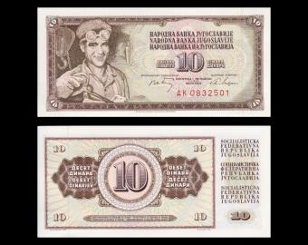 Yougoslavie, p-82c, 10 dinara, 1968