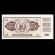 Yugoslavia, 10 dinara