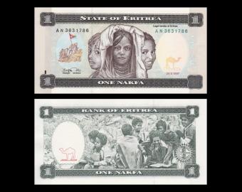 Erythrée , 1 nakfa