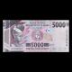 Guinea, P-49, 5000 francs, 2015