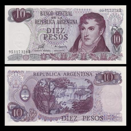 Argentine, p-300, 10 pesos, 1976