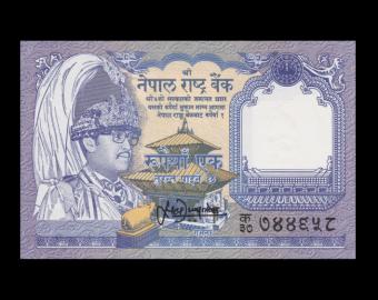 Nepal, P-37b, 1 roupie, 1995
