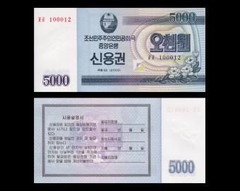 K, P-New, 5 000 won, 2003