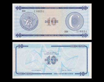 C, p-FX22, 10 pesos