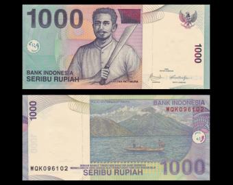 Indonesia, P-141j, 1000 rupiah, 2009