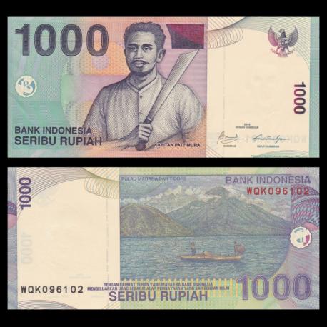 Indonesia, 1.000 rupiah, 2009
