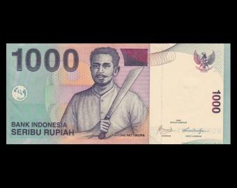 Indonésie, P-141j, 1000 rupiah, 2009