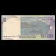 Indonésie, 1000 rupiah, 2009, verso