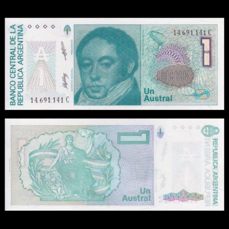 Argentina, p-323b ,1 australe, 1985