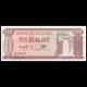 Guyana, P-23f, 10 dollars, 1993