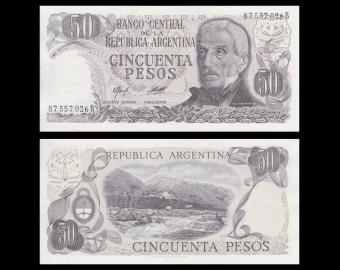 Argentine, P-301b, 50 pesos, 1976-78