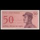 Indonésie, P-094, 50 sen, 1964