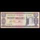Guyana, 20 dollars, 2009