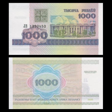 Belarus, P-16, 1000 rubles, 1998