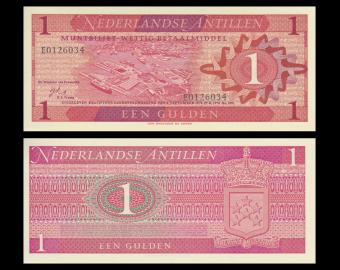 Antilles Néerlandaises, 1 gulden, 1970