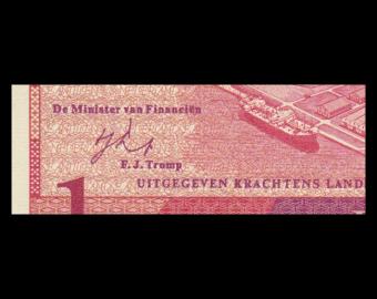 Antilles Néerlandaises, P-20, 1 gulden, 1970