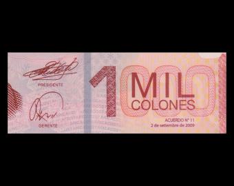 Costa Rica, P-274a, 1000 colones, polymère, 2009
