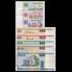 Bielorussie, lot de 8 billets différents