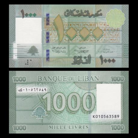 Liban, P-90c,1000 livres, 2016