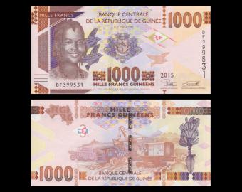 Guinée, P-48a, 1000 francs, 2015