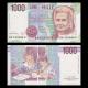 Italy, P-114b, 1000 lire, 1990
