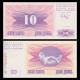 Bosnie-Herzégovine, P-10, 10 dinara, 1992