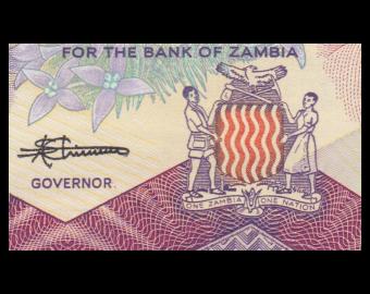Zambie, P-28, 50 kwacha, 1986