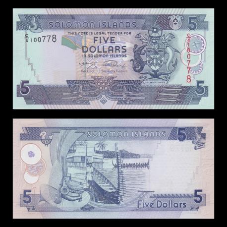 Salomon (iles), p-26, 5 dollars, 2004