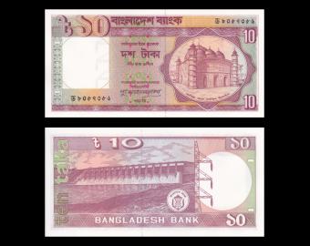 Bangladesh, p-26f, 10 taka, 1996