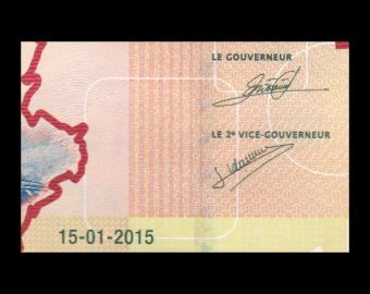 Burundi, p-50a, 500 francs, 2015