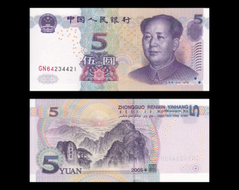 Chine, p-903a, 5 yuan, 2005