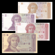 Croatia, 4 banknotes set, 1991
