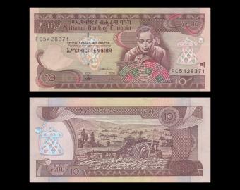 Ethiopie, p-48e, 10 birr, 2008