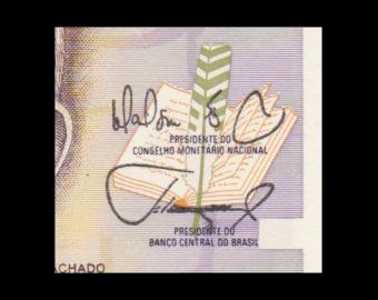 Brésil, P-216b, 1 cruzado novo, 1989