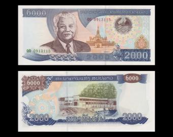 Laos, P-33b, 2000 kip, 2003