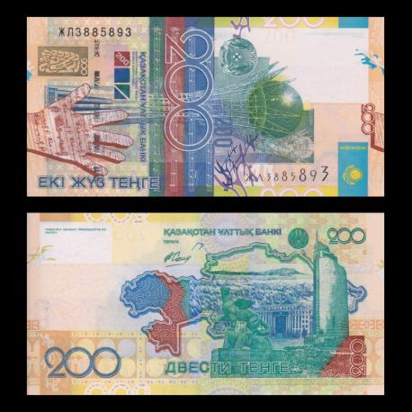 Kazakhstan, 200 TENGE, 2006