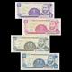 Nicaragua, 4 banknotes set, 1991