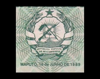 Mozambique, P-130c, 100 meticais, 1989
