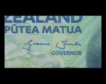 Nouvelle Zélande, P-192, 10 dollars, 2015