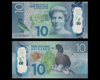 New Zealand, P-192, 10 dollars, 2015
