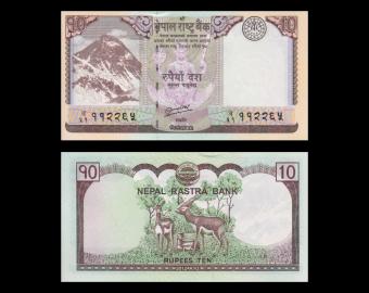 Nepal, p-70, 10 roupies, 2012