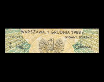 Poland, P-142c, 50 zlotych, 1988