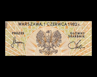 Pologne, P-145d, 500 zlotych, 1982